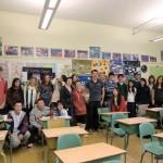 Point Grey Secondary School school visit with Grade 12 - Vancouver, Canada