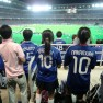 Japanese soccer fans (Yokohama, where I now live)